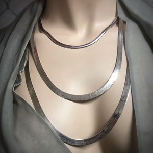 Sterling Necklace trio